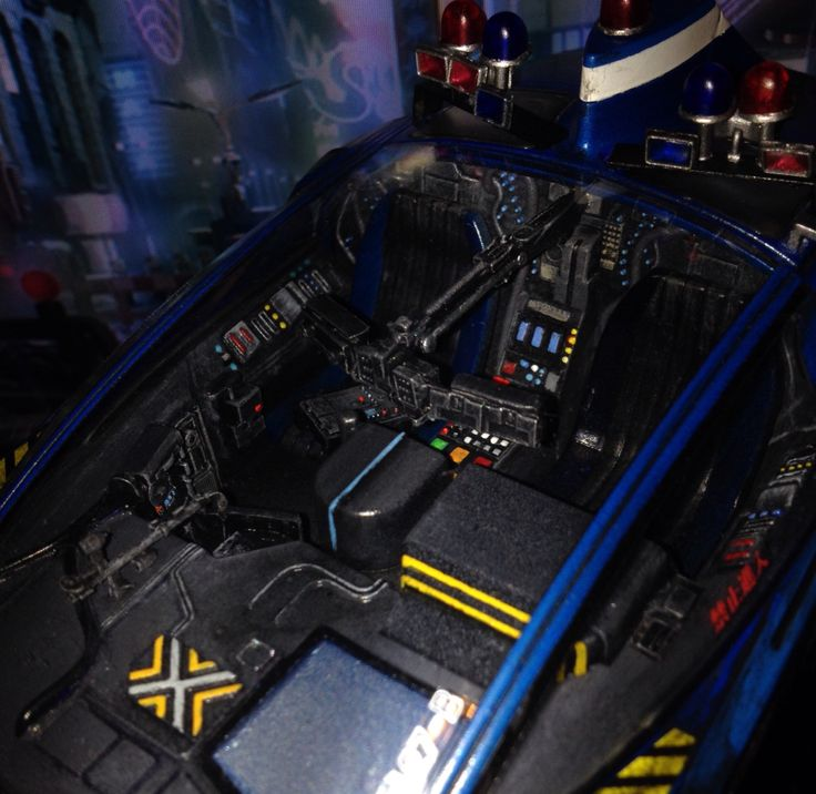 fujimi blade runner spinner model interior with scratch built additions vox collectibles. Black Bedroom Furniture Sets. Home Design Ideas