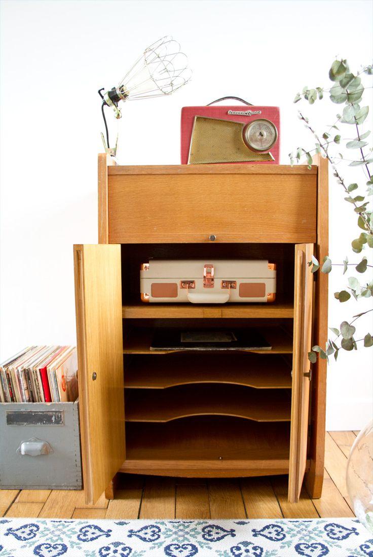 17 meilleures id es propos de tourne disques sur for Decoration porte disque 33t