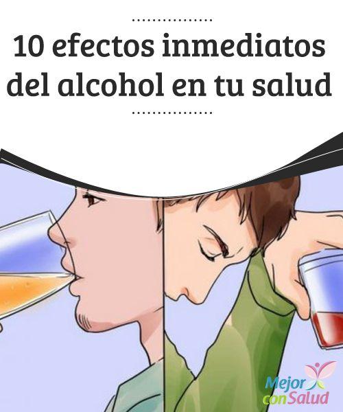 10 efectos inmediatos del alcohol en tu salud   El consumo excesivo de alcohol puede provocar graves reacciones indeseadas en nuestro organismo. Descubre las 10 que se producen de inmediato.