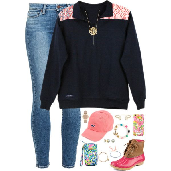 vote for Pedro and make all of your wildest dreams come true by kaley-ii on Polyvore featuring Paige Denim, Sperry, Kate Spade, Moon and Lola, Kendra Scott, Shashi, Alex and Ani, Majorica and Lilly Pulitzer