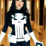 Consplay Punisher. I have been bad,  I need to be punished...