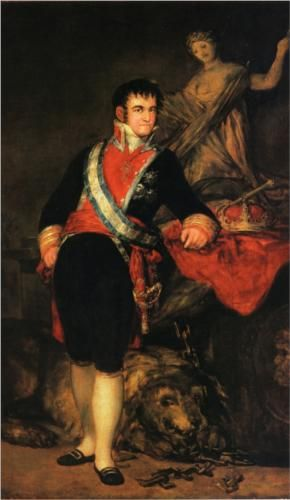 Francisco de Goya | Retrato de Fernando VII