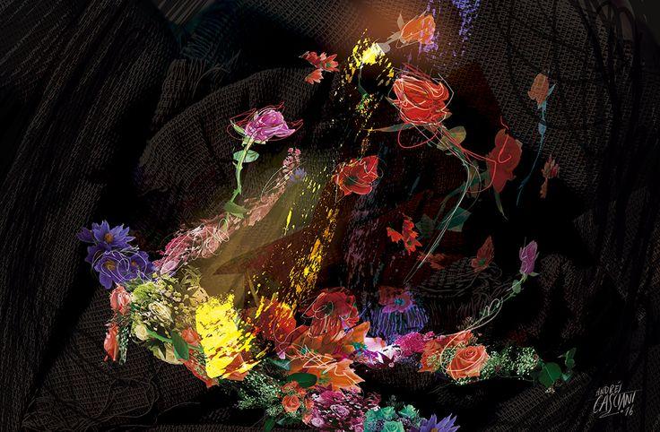 """""""Los hijos de los días"""" - Galeano ilustrado por Casciani 23/12 - acá podés leer el texto: http://andrescasciani.blogspot.com.ar/2016/12/los-hijos-de-los-dias-galeano-ilustrado_26.html"""