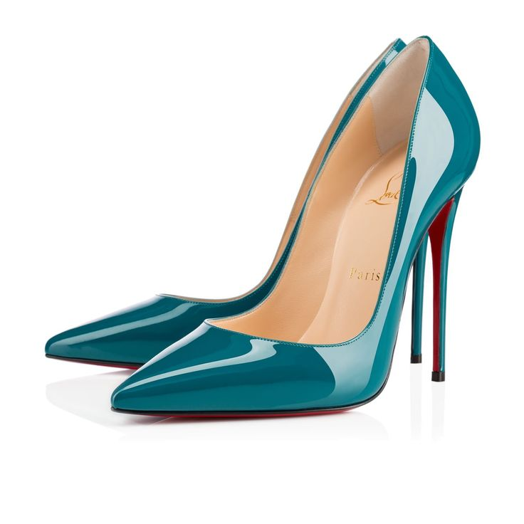 Louboutin So Kate, Curacao patent