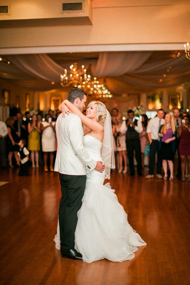 My Wedding The First Dance At Fredericksburg Square Downtown Justin Alexander Gown From Ava