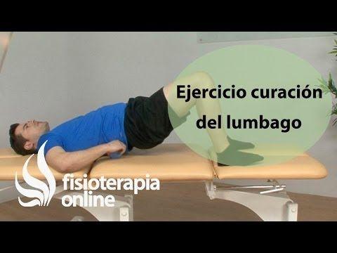 M Ejercicio de flexibilización de la columna lumbar para el lumbago o lumbalgia | Fisioterapia Online