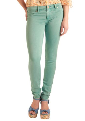 """LOVE this color. still classy enough to be worn with pretty much anything, but unique enough to be more than regular """"blue jeans"""""""