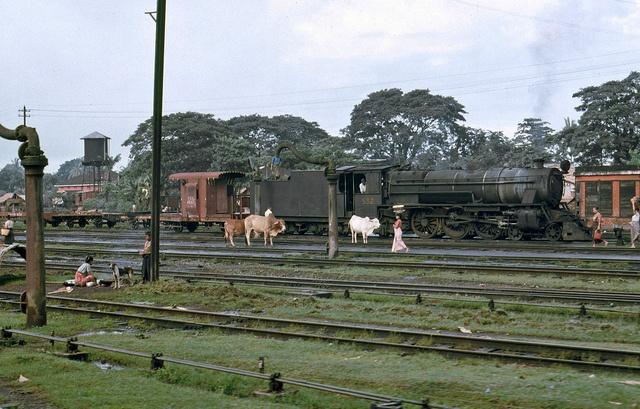 Eine Bahnfahrt in Burma, 1985 Teil 1 - 15, via Flickr.