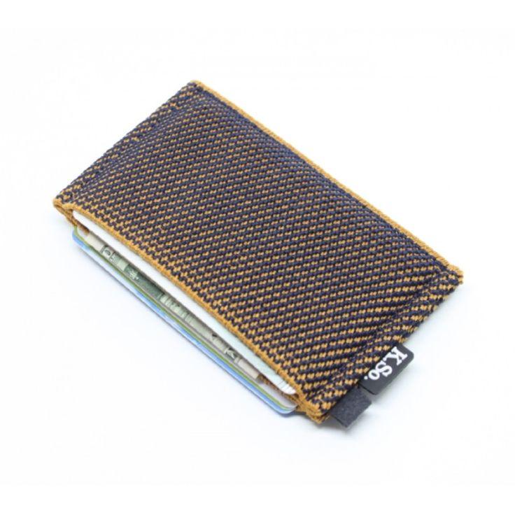 Slim Minimalist Wallet & Card Holder 'Slimz Orange&Blue'