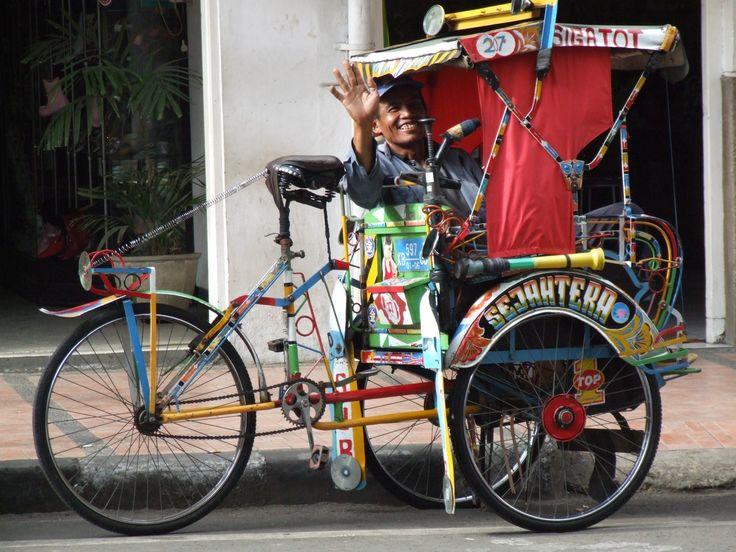 Becak #Bandung #westjava