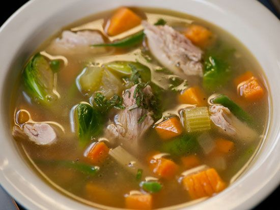 Nine Healthy Soups To Aid In Weight Loss - great ways to fill up, get your veggies and reduce caloric intake. Next month I'm going soup crazy!