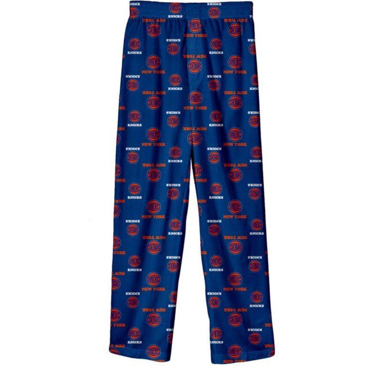 NBA Youth New York Knicks Logo Pajama Pants, Size: Medium, Team
