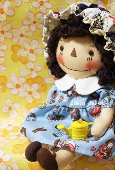 ATELIER CHERRY: Boneca de pano - Passo a passo