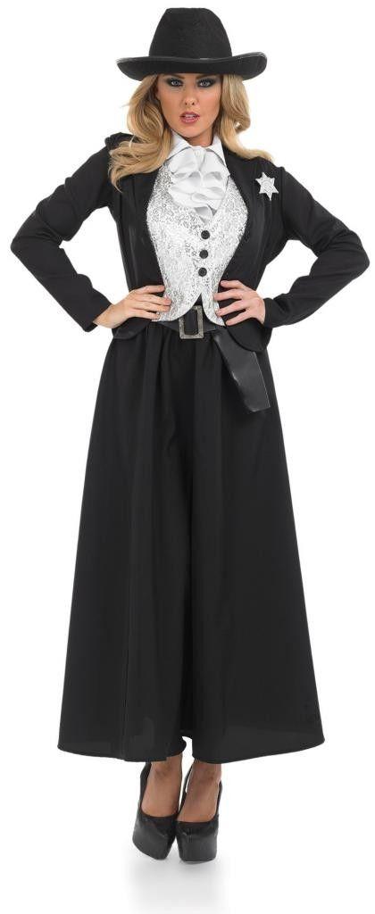 OLD TIME FEMALE SHERIF Costume
