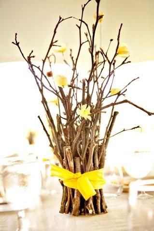 Branch Centerpieces- wedding centerpiece