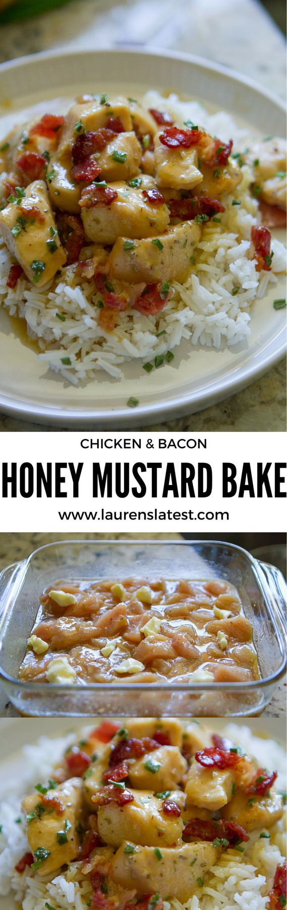 Baked Chicken With Honey-Whole Grain Mustard Glaze Recipe ...