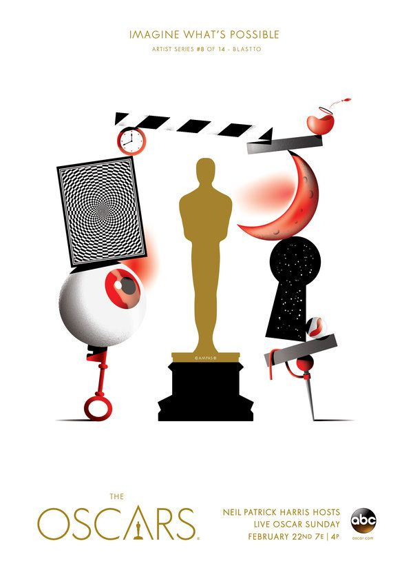 "Oscars 2015 ""Imagine What's Possible"" Artist Series: Blastto, Spain"