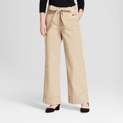 Women's Straight Trouser - A New Day™ Tan