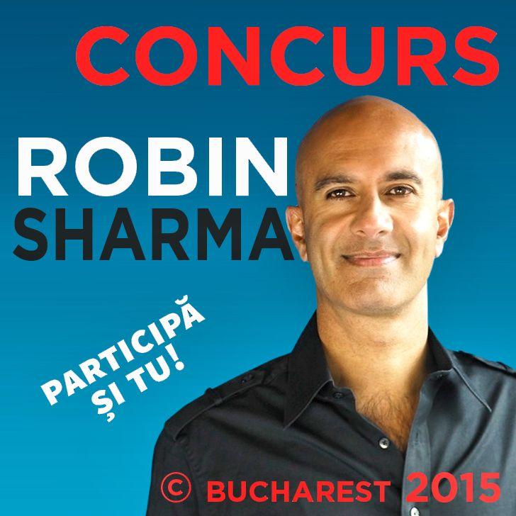 Concurs Robin Sharma – Pachet PLATINUM – 17 septembrie București