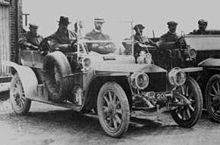 AX201 at Cat and Fiddle Hill during the Scotty Reliability Trial 1907