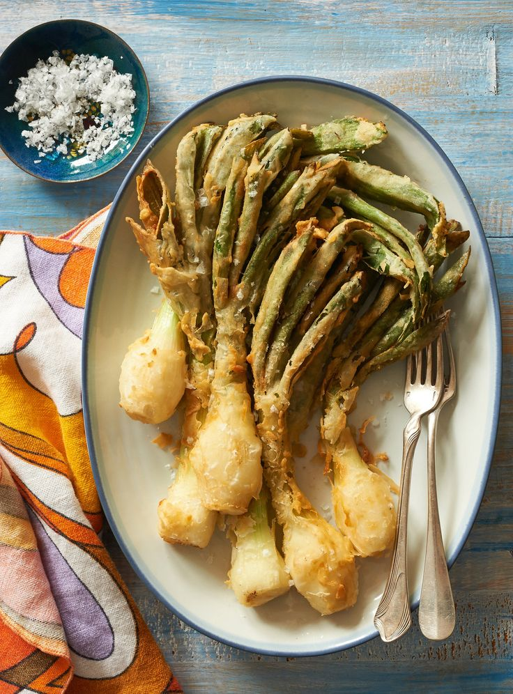 This dish is inspired by something similar served at Chez Panisse in Berkeley It works as a side, of course, but also as an hors d'oeuvre served with drinks More spring recipes.