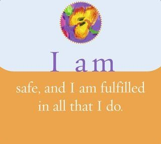 I am safe and I am fulfilled in all that I do.  ~ Louise L. Hay: Meditation Mantra, Inspiration, Hay Affirmations, Affirmations Louise Hay, Abraham Meditation, Louis Hay, House, Meditation Intuitive, Spiritualguid Afterlife