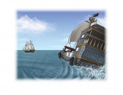 BIll Hope illustrates Benji the Buccaneer