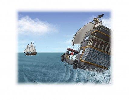 Bill Hope illustrates Benji the Buccaneer