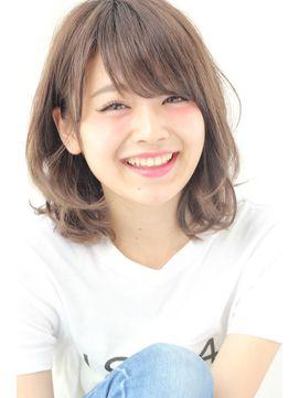【GARDEN】再UP耳かけして可愛い愛され小顔ミディアム(田塚裕志)