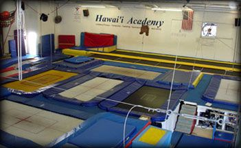 drop in gymnastic fun MWF 6-10pm at Hawaii Academy