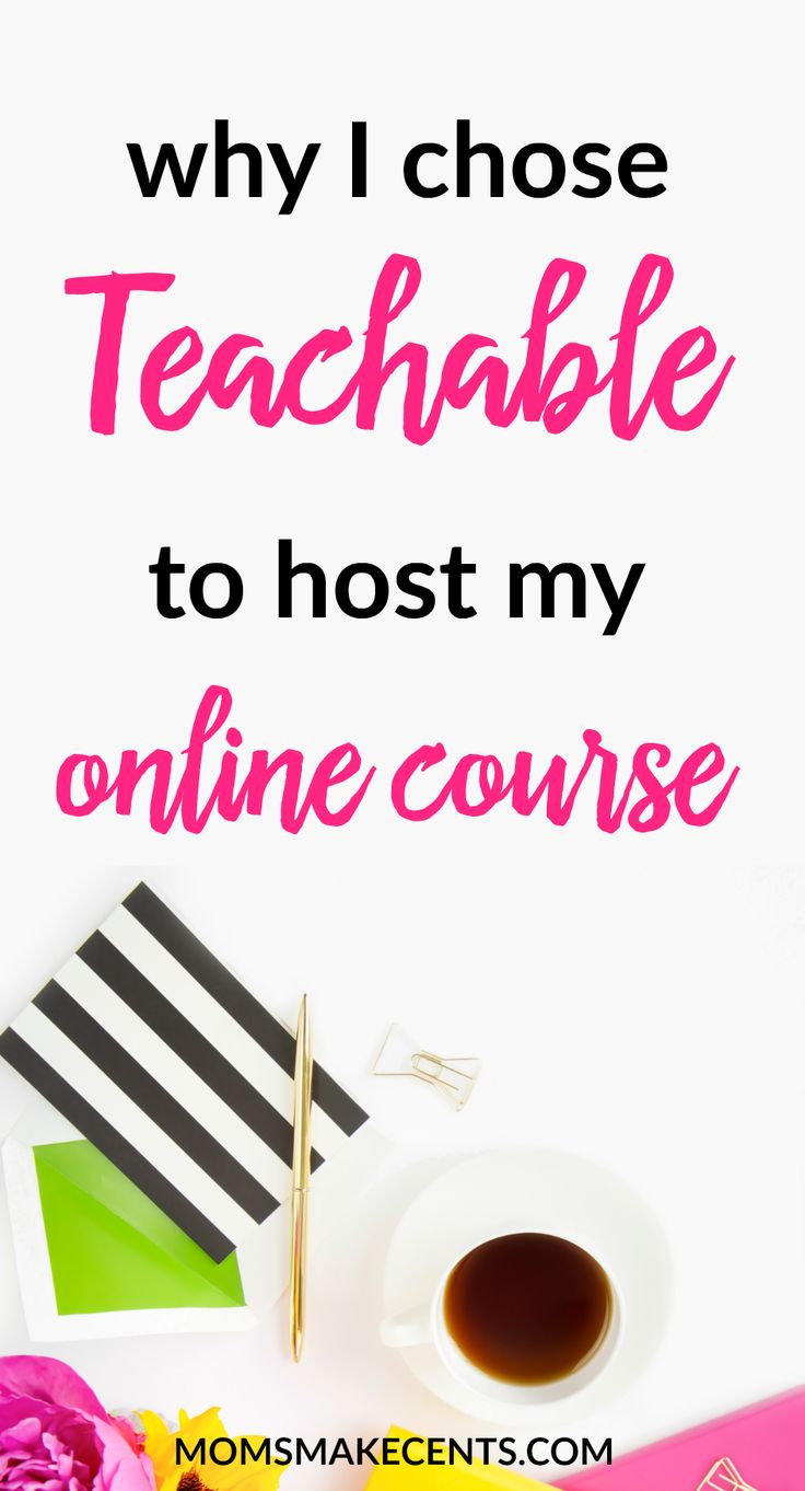 Creating an online course? Make sure to read this first! Creating a course is one of my favorite ways to monetize your blog. I've made thousands of dollars from online courses, check out why I chose Teachable.