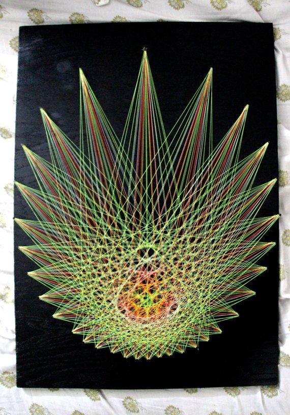 String art astral projection wall piece by xDreameater