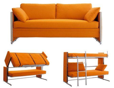 A era dos móveis funcionais para ambientes pequenos. Fotos publicadas no site casa.com.br.