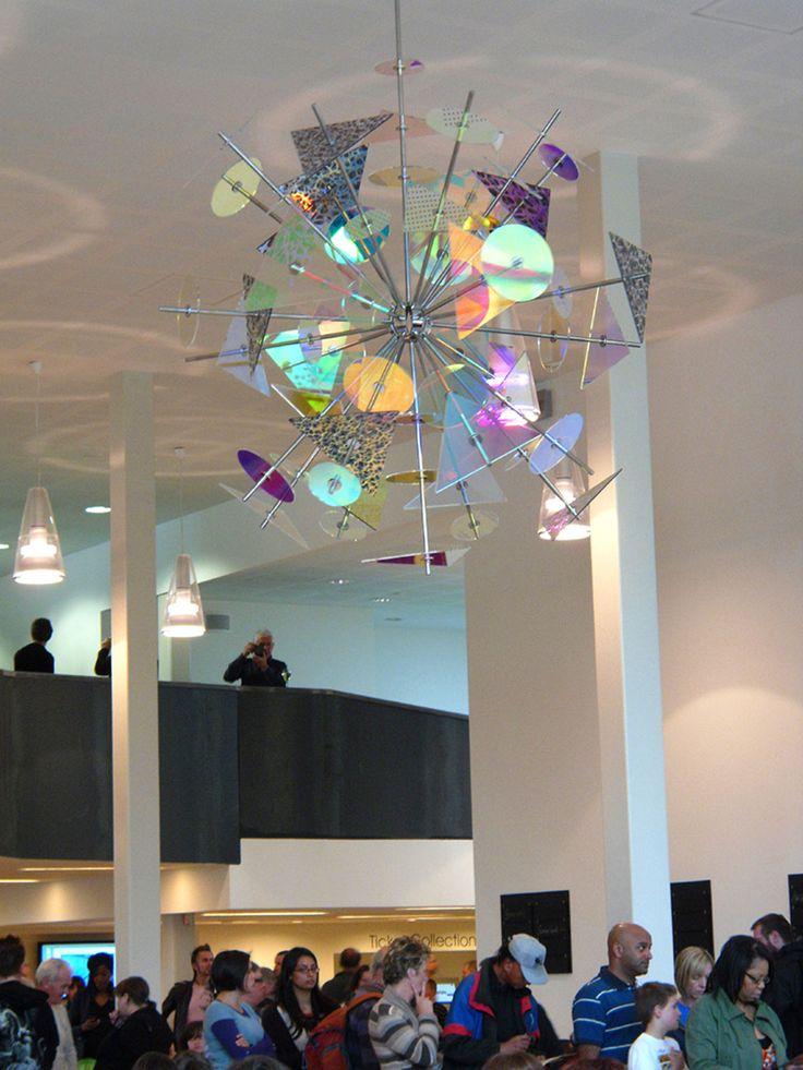 Rotating sculpture, Midlands Arts Centre, Birmingham