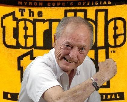 Myron Cope: Never short on Pittsburgh Steeler Spirit! You will always be a legacy in Pittsburgh!