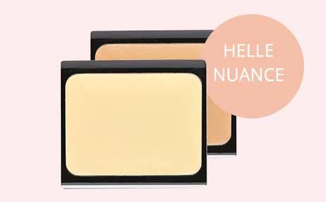 Gesicht konturieren Produkte: Helle Camouflage Cream Nr. 2 oder 15