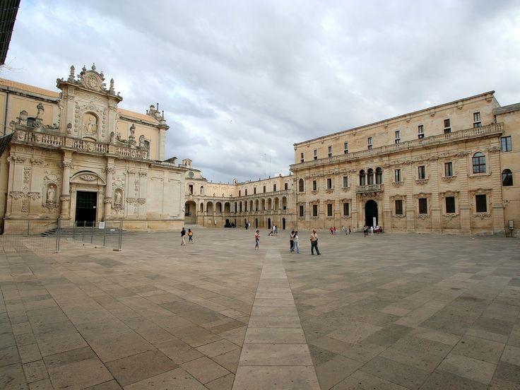 Lecce - Duomo e Palazzo del Seminario