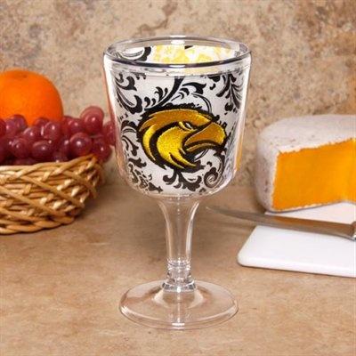 Southern Miss Acrylic Wine Glass