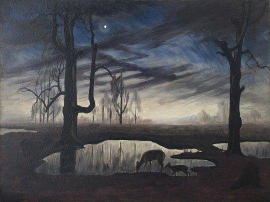 The Evening Star - Charles Burchfield