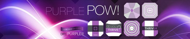 Purple POW! Limited Edition Weight Loss Patches Buy or Join Now:  http://aggiechick.IndustryShift.com      #health #wellness #workout #food #healthy