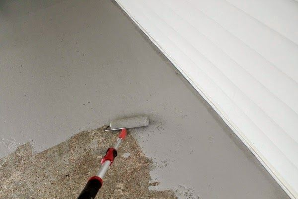 ChippaSunshine: How To: Repaint a Concrete Porch