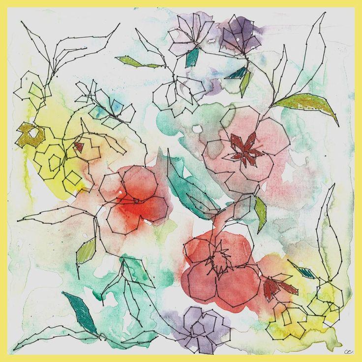 Claire Coles, Silk Scarves