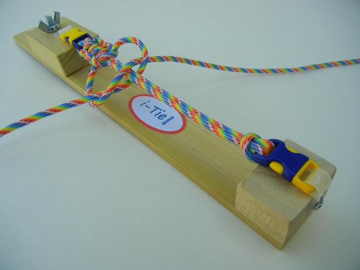 "The ""i-Tie"" Paracord Bracelet Maker Jig with Free Paracord Bracelet Kit. $17.99, via Etsy."