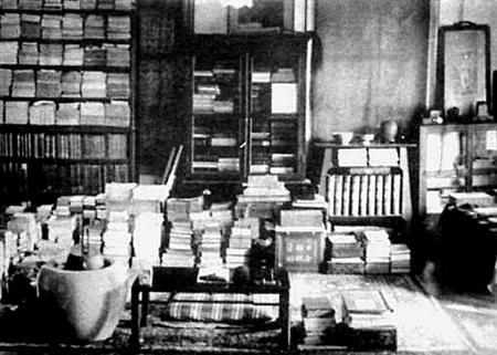 夏目漱石の書斎