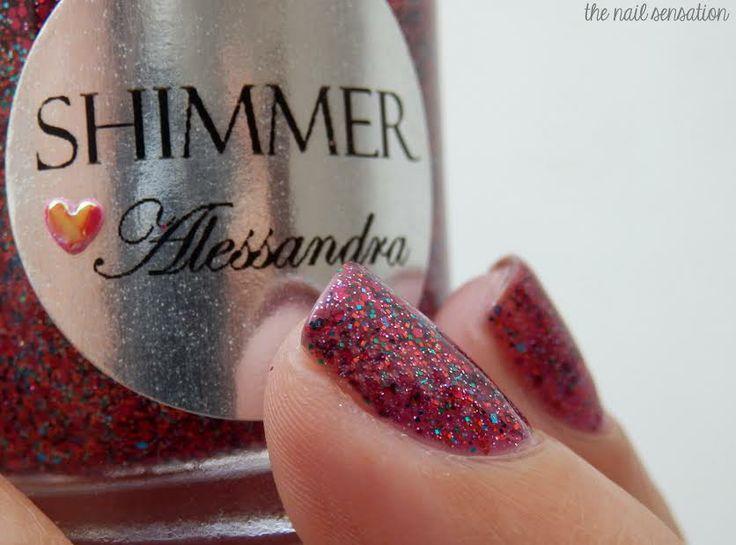 Shimmer Polish Alessandra The Nail Sensation