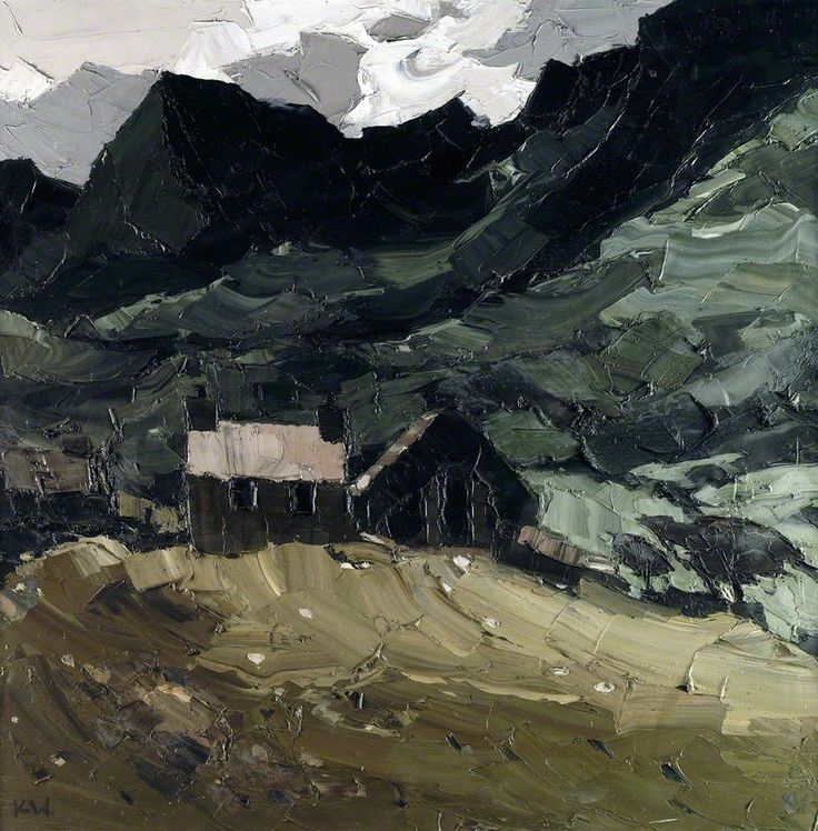 Kyffin Williams - Chapel at Dinorwic (2000)