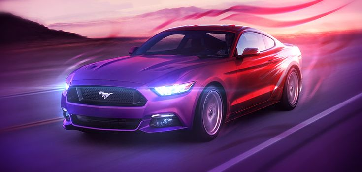 This #Artwork pictures the cool new #FordMustang, and shows my #Passion for #DigitalArts and #American #MuscleCars. http://art.jeshield.com/1476en