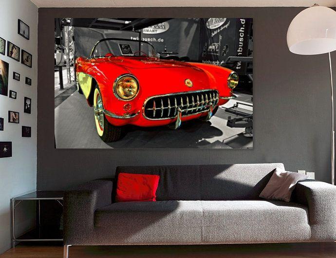Excellent Vintage Chevrolet Corvette Convertible Canvas Corvette Art Download Free Architecture Designs Scobabritishbridgeorg