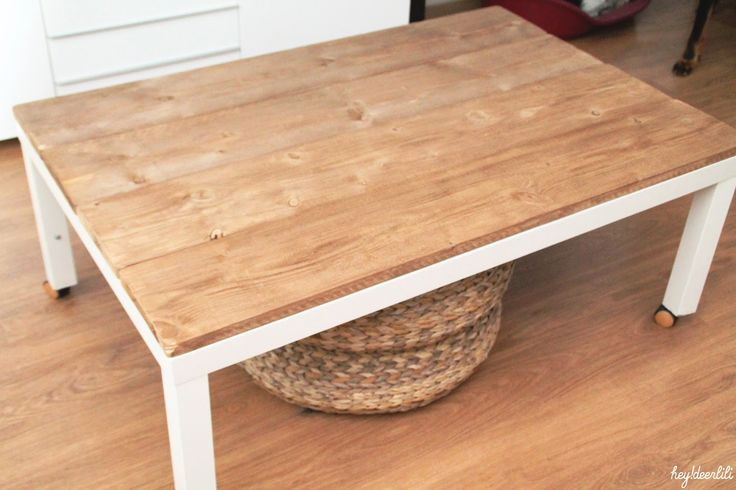 Hey! Deer Lili: Retaper un basique: La table basse Ikea
