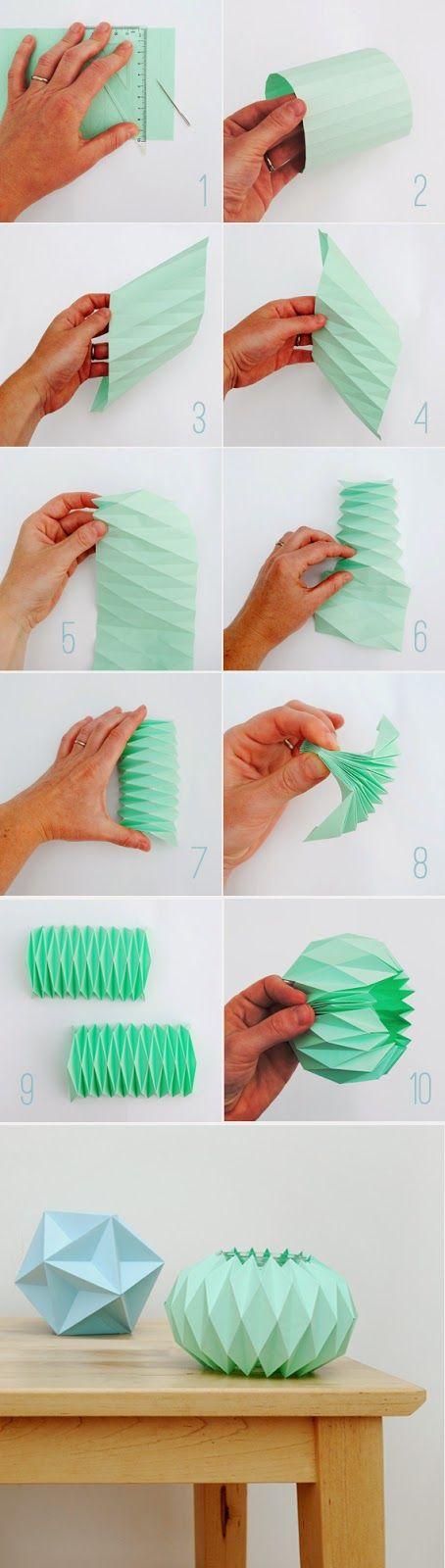 Boho Deco Chic: DIY: Hazte un portavelas de papel de colores pastel, bonito y barato